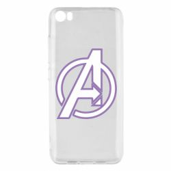 Чехол для Xiaomi Mi5/Mi5 Pro Avengers and simple logo
