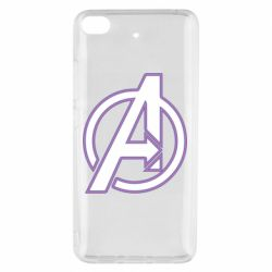 Чехол для Xiaomi Mi 5s Avengers and simple logo