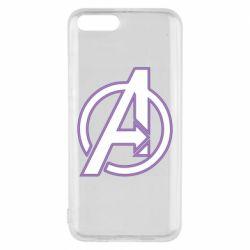 Чехол для Xiaomi Mi6 Avengers and simple logo
