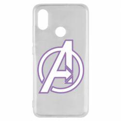 Чехол для Xiaomi Mi8 Avengers and simple logo