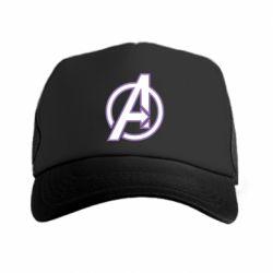 Кепка-тракер Avengers and simple logo
