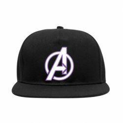 Снепбек Avengers and simple logo