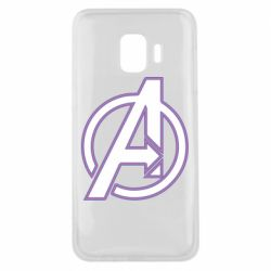Чехол для Samsung J2 Core Avengers and simple logo
