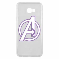 Чехол для Samsung J4 Plus 2018 Avengers and simple logo