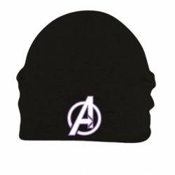 Шапка на флисе Avengers and simple logo