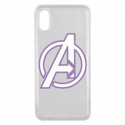 Чехол для Xiaomi Mi8 Pro Avengers and simple logo