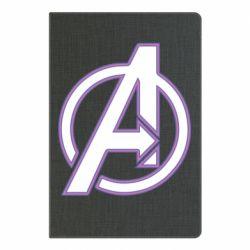 Блокнот А5 Avengers and simple logo