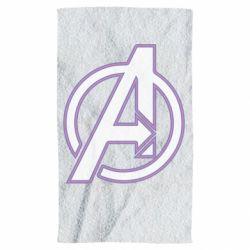 Полотенце Avengers and simple logo