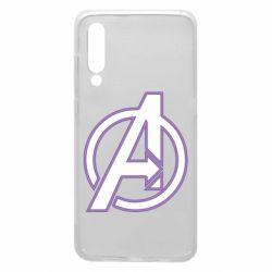 Чехол для Xiaomi Mi9 Avengers and simple logo