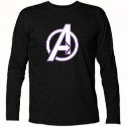 Футболка с длинным рукавом Avengers and simple logo