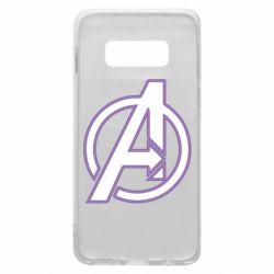 Чехол для Samsung S10e Avengers and simple logo