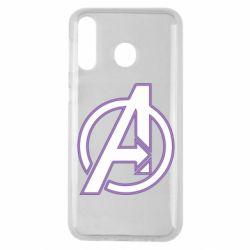 Чехол для Samsung M30 Avengers and simple logo