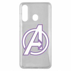 Чехол для Samsung M40 Avengers and simple logo