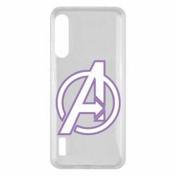 Чохол для Xiaomi Mi A3 Avengers and simple logo