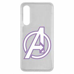Чехол для Xiaomi Mi9 SE Avengers and simple logo