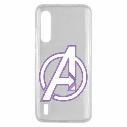 Чехол для Xiaomi Mi9 Lite Avengers and simple logo