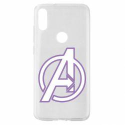 Чехол для Xiaomi Mi Play Avengers and simple logo