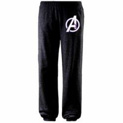 Штаны Avengers and simple logo