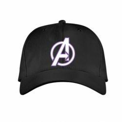 Детская кепка Avengers and simple logo