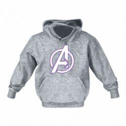 Детская толстовка Avengers and simple logo