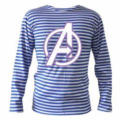 Тельняшка с длинным рукавом Avengers and simple logo