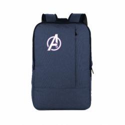 Рюкзак для ноутбука Avengers and simple logo