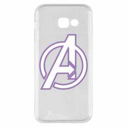 Чехол для Samsung A5 2017 Avengers and simple logo