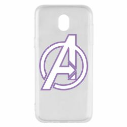 Чехол для Samsung J5 2017 Avengers and simple logo