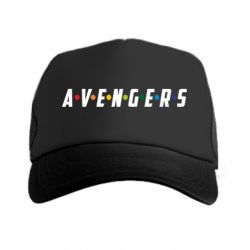 Кепка-тракер Avengers in the style of the logo of friends