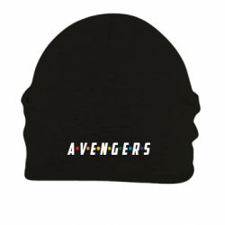 Шапка на флисе Avengers in the style of the logo of friends
