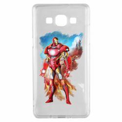 Чохол для Samsung A5 2015 Avengers iron man drawing