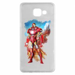 Чохол для Samsung A5 2016 Avengers iron man drawing