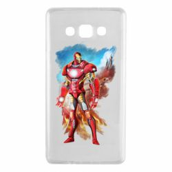 Чохол для Samsung A7 2015 Avengers iron man drawing
