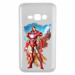 Чохол для Samsung J1 2016 Avengers iron man drawing