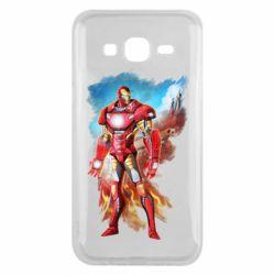 Чохол для Samsung J5 2015 Avengers iron man drawing