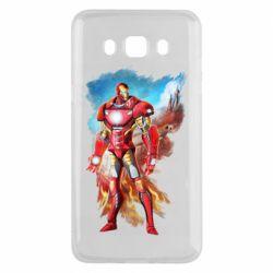 Чохол для Samsung J5 2016 Avengers iron man drawing
