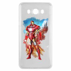 Чохол для Samsung J7 2016 Avengers iron man drawing