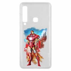 Чохол для Samsung A9 2018 Avengers iron man drawing