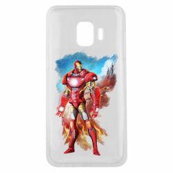 Чохол для Samsung J2 Core Avengers iron man drawing