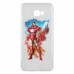 Чохол для Samsung J4 Plus 2018 Avengers iron man drawing