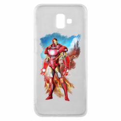 Чохол для Samsung J6 Plus 2018 Avengers iron man drawing