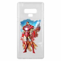 Чохол для Samsung Note 9 Avengers iron man drawing