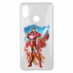 Чохол для Xiaomi Mi Max 3 Avengers iron man drawing