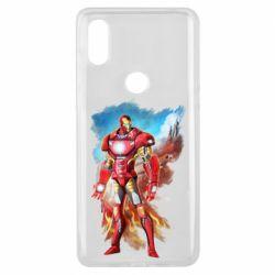 Чохол для Xiaomi Mi Mix 3 Avengers iron man drawing