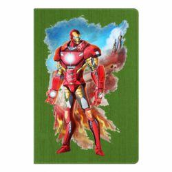 Блокнот А5 Avengers iron man drawing
