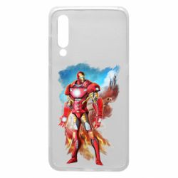 Чохол для Xiaomi Mi9 Avengers iron man drawing