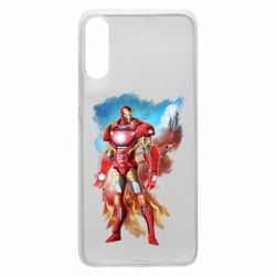 Чохол для Samsung A70 Avengers iron man drawing