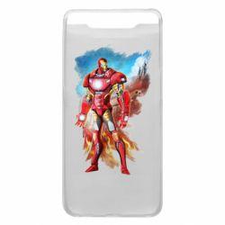 Чохол для Samsung A80 Avengers iron man drawing