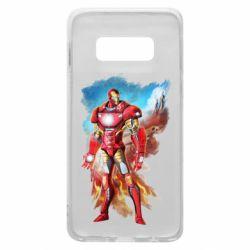 Чохол для Samsung S10e Avengers iron man drawing