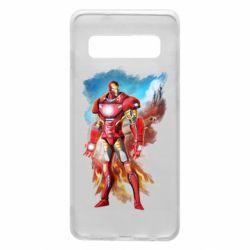 Чохол для Samsung S10 Avengers iron man drawing
